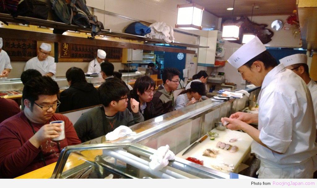 รู้จริงญี่ปุ่น_Tokyo_05 Tsukiji 07 Sushi Dai