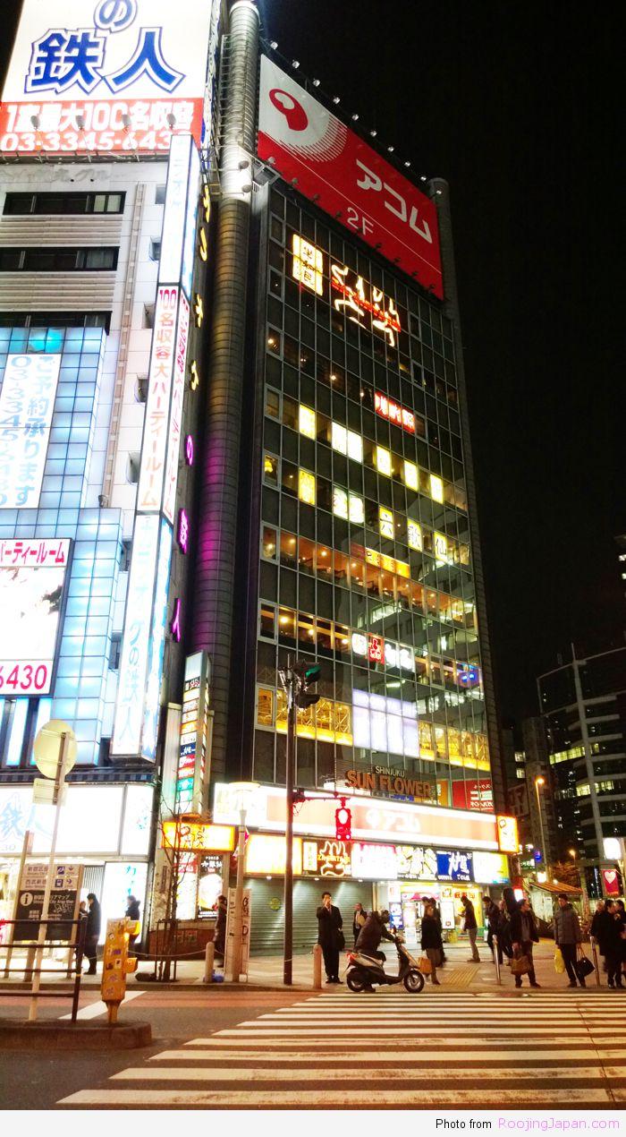 Tokyo_21 Rokkusen  Shinjuku 01