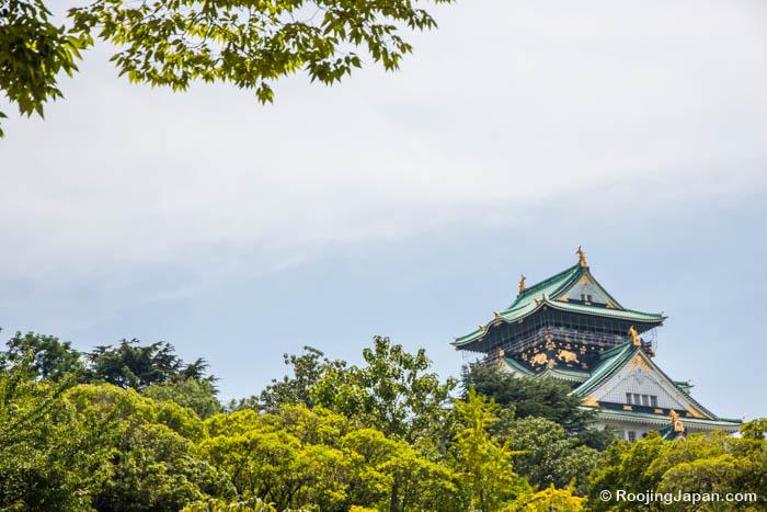 ปราสาทโอซาก้า ประเทศญี่ปุ่น